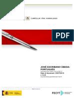 Curriculum Vitae Normalizado - Jose Escribano Ubeda Portugues