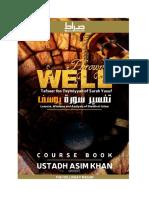 Lesson 1- Thrown in a Well - Tafseer Surah Yusuf - Ustadh Asim Khan