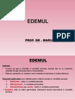 Curs 4 - Edemul