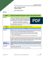 Ajout Contrat SAS Dossier Emploi Existant