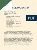 Alexandr Soljenitin - Vitelul Si Stejarul Vol 1 N.pdf