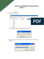 Tutorial Penggunaan Crystal Report dengan Visual Basic 6.doc