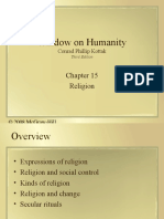 Religion and Society Ch15
