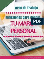 Cuaderno Marca Personal Www.lorenaBusso