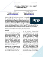 A SURVEY ON SHEAR STRENGTHINGNING OF RC-T BEAM USING FRP