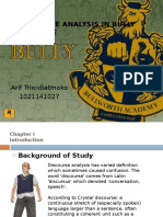 A Discourse Analysis in Bully Xd