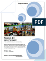 Manual de Construccion Ingasoil