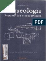 Arqueología Restauración y Conservación