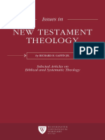 Issues in New Testament Theology - Richard Gaffin