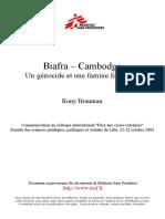Brauman - Biafra, Cambodge, faux génocide