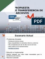 Propuesta Tranferencia de Archivos