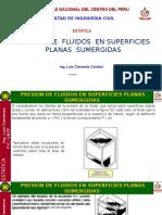 3 Presion de Fluidos en Superficies Planas Fic-uncp