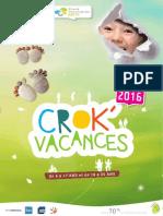 Catalogue Crok'Vacances 2016 Ci Ortf