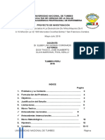 Proyecto de Investigacion de Desnutricion