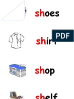 sh word card (a)