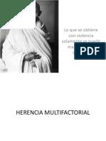 Herencia Multifactorial