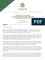 Papa Francisco sacralidade da vida humana.pdf