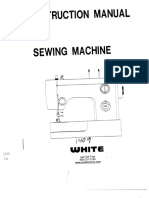 Sewing Machine -- Singer 1409 -- Instruction Manual