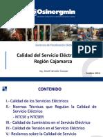 Calidad Servicio Electrico Cajamarca