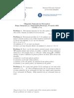2016 Matematica Judeteana Clasa a Va Subiectebarem