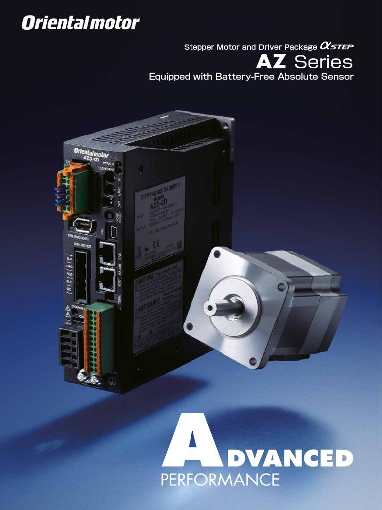 Oriental Motor Az Series Gear Battery Electricity Wiring Diagram