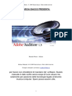 Adobe Audition Manuale Pratico Ita