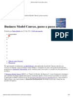 Business Model Canvas, Passo a Passo