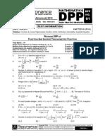 Revision Dpp Maths 1