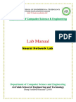 Manual for neural and matlab applications