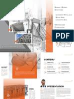 Plaquette Bureau Etudes Structures Sg-Structural Modeling