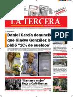 Diario La Tercera 27.07.2016