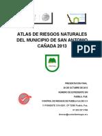131028 ATLAS DE RIESGOS DE SAN ANTONIO CAÑADA, PUE. PRESENTACION FINAL.docx