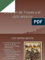 Chrétien de Troyes y el ciclo artúrico
