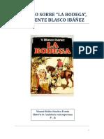 Trabajo Sobre La Bodega de Blasco Ibañez