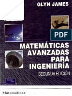 Matemáticas Avanzadas para Ingenieros - Glyn James (2da Edición)