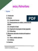 Tema 2 Herencia y Polimorfismo