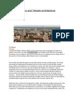 Temple Architectur-Agama and Temple Architecture - Part 1