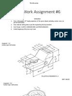 HOmeWork Assignment 6 - Thursd