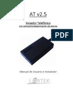 Manual Llamador GSM at v2.5