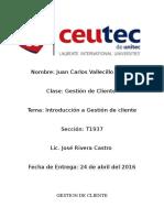 Tarea1 Gestion Cliente