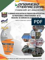 CongresoInternacionalInvestigacion2016_FaCEUC1