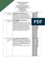 algebra i 2016-2017 pacing guide  1