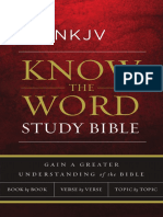 NKJV Know the Word