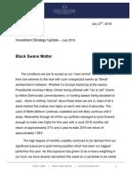 Corona Associates Capital Management LLC - Black Swans Matter - July 2016 Investment Letter