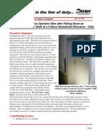 NIOSH Report on Death of FAO Daryl Gordon