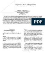 Analisis Comparativo de Los IDEs Para Javaasdasdasdasdasdas