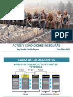 Actos y Condiciones Inseguras en Mineria Subterranea