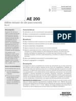Basf MasterAir AE200 Tds