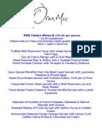 PDR Choice Menu 12.02.10