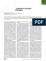 Battling the Bite - Tradeoffs in Immunity to Insect-Borne Pathogens